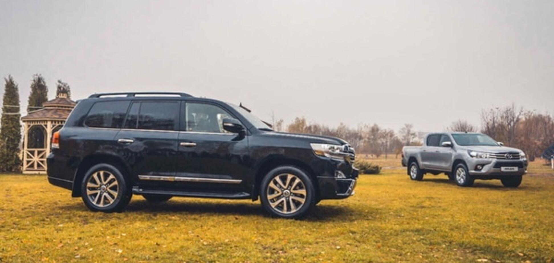 В Украине испытали три новых внедорожника Toyota