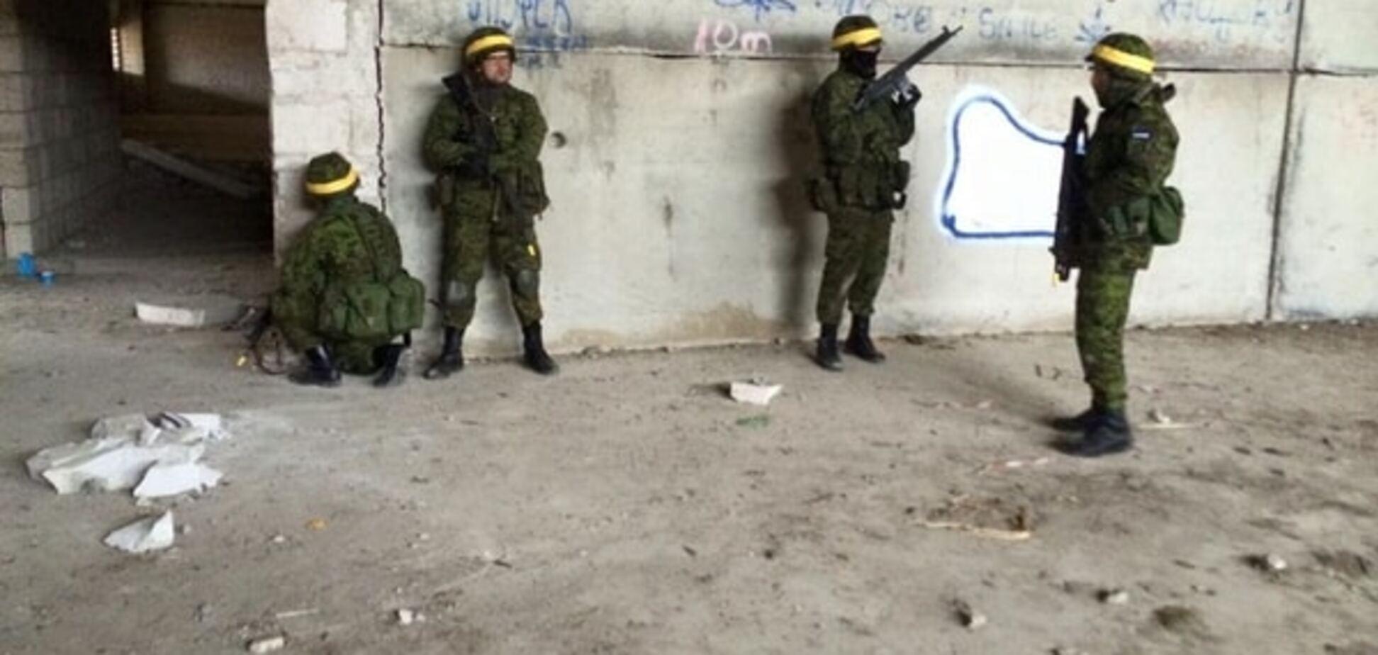 Естонські силовики відрепетирували боротьбу з 'зеленими чоловічками' з Росії: фотофакт