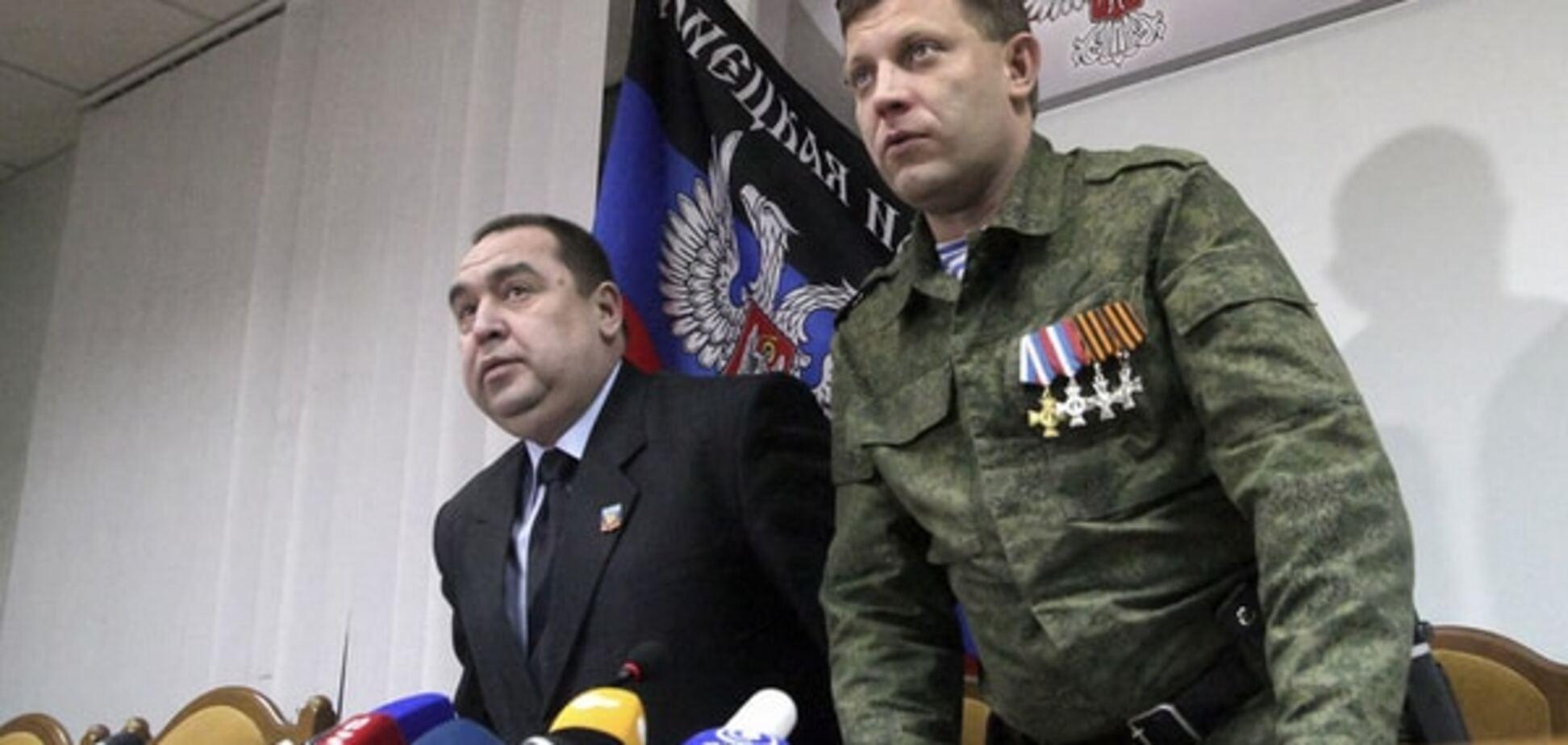 Ватажки 'ДНР' і 'ЛНР' розпочали між собою 'горілчану війну' - Снєгирьов