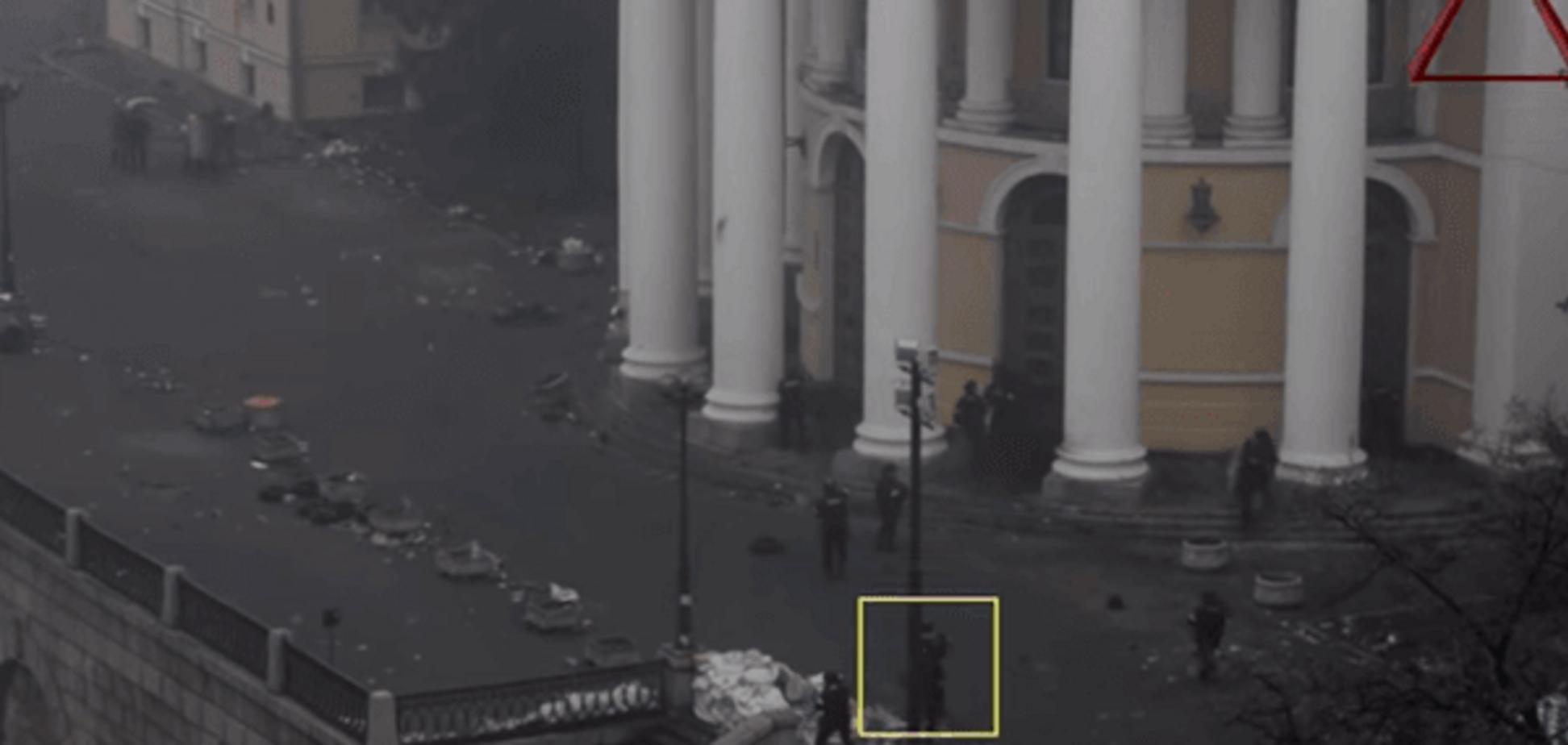 Відеокамери 'засікли' маршрут екс-беркутівця у день розстрілу Майдану
