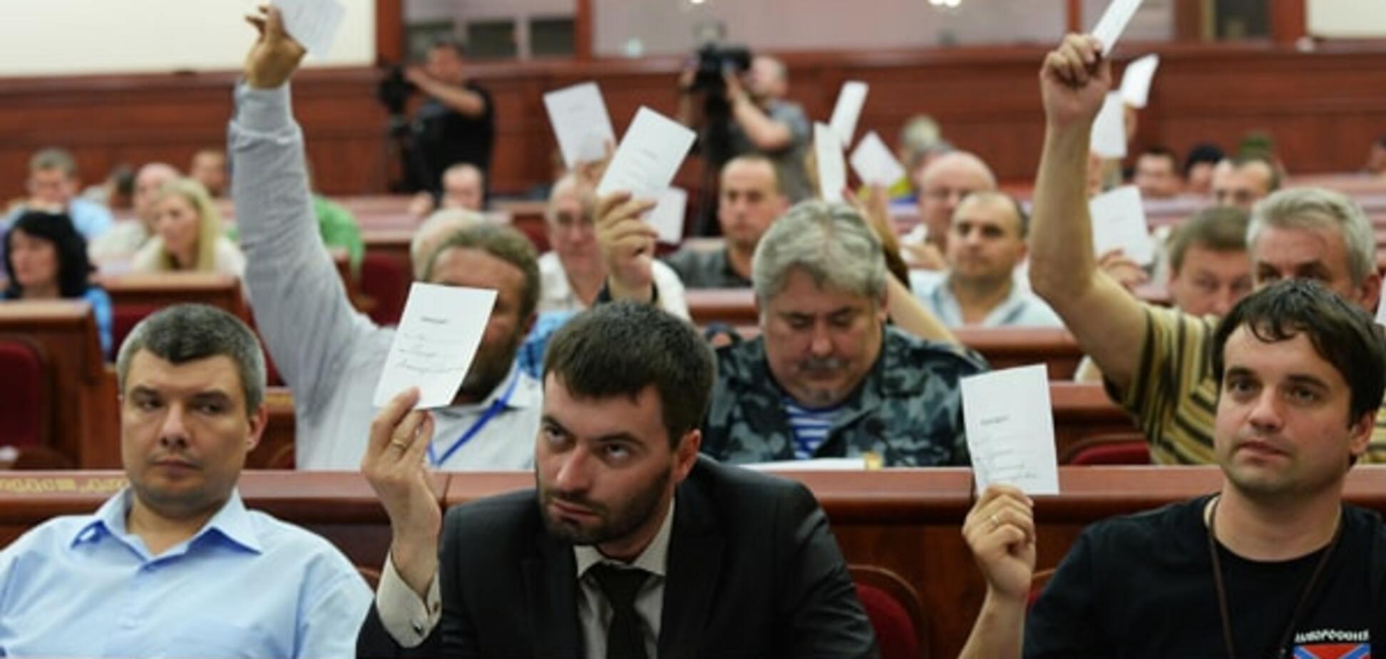 У 'ДНР' хочуть 'конституціонально' заборонити українську мову
