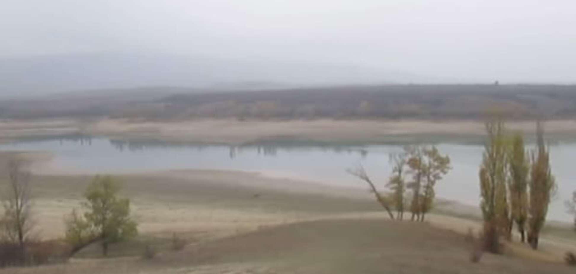 У Криму рекордно низько впав рівень води у водосховищах - ЗМІ