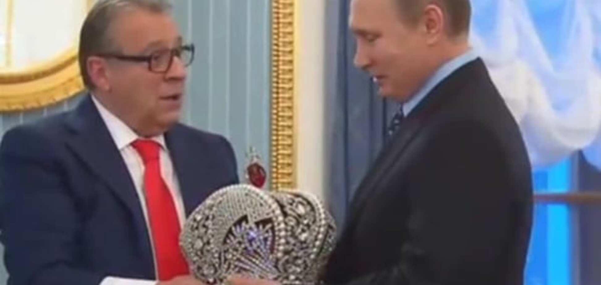 Дуже приємно, цар: Путіна спробували коронувати