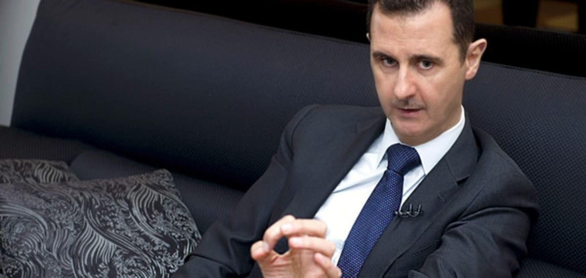 Асад розповів, як терористи пробираються в Європу