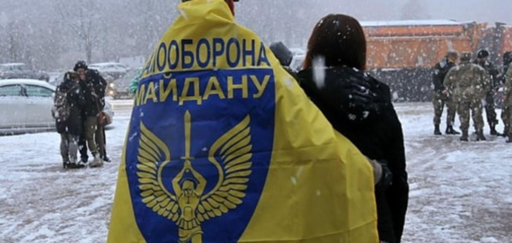 В Михайловском соборе отметили годовщину самообороны Майдана