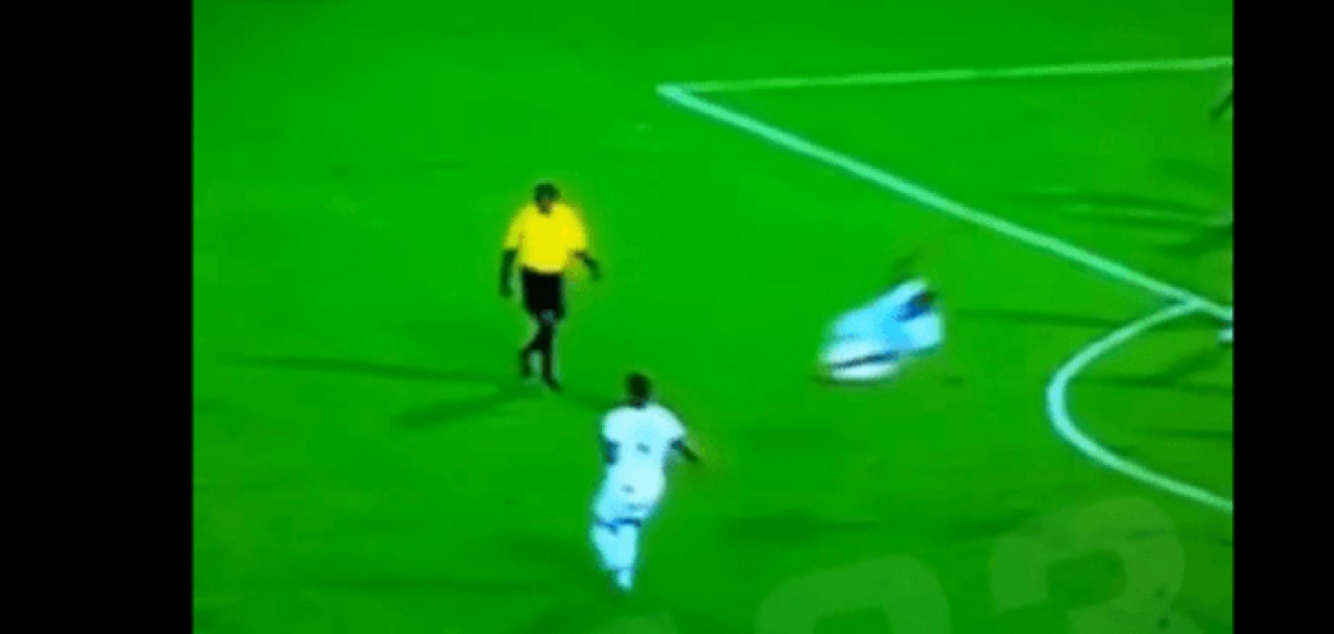 'Обкурений' колумбійський футболіст скоїв підкат року: курйозне відео