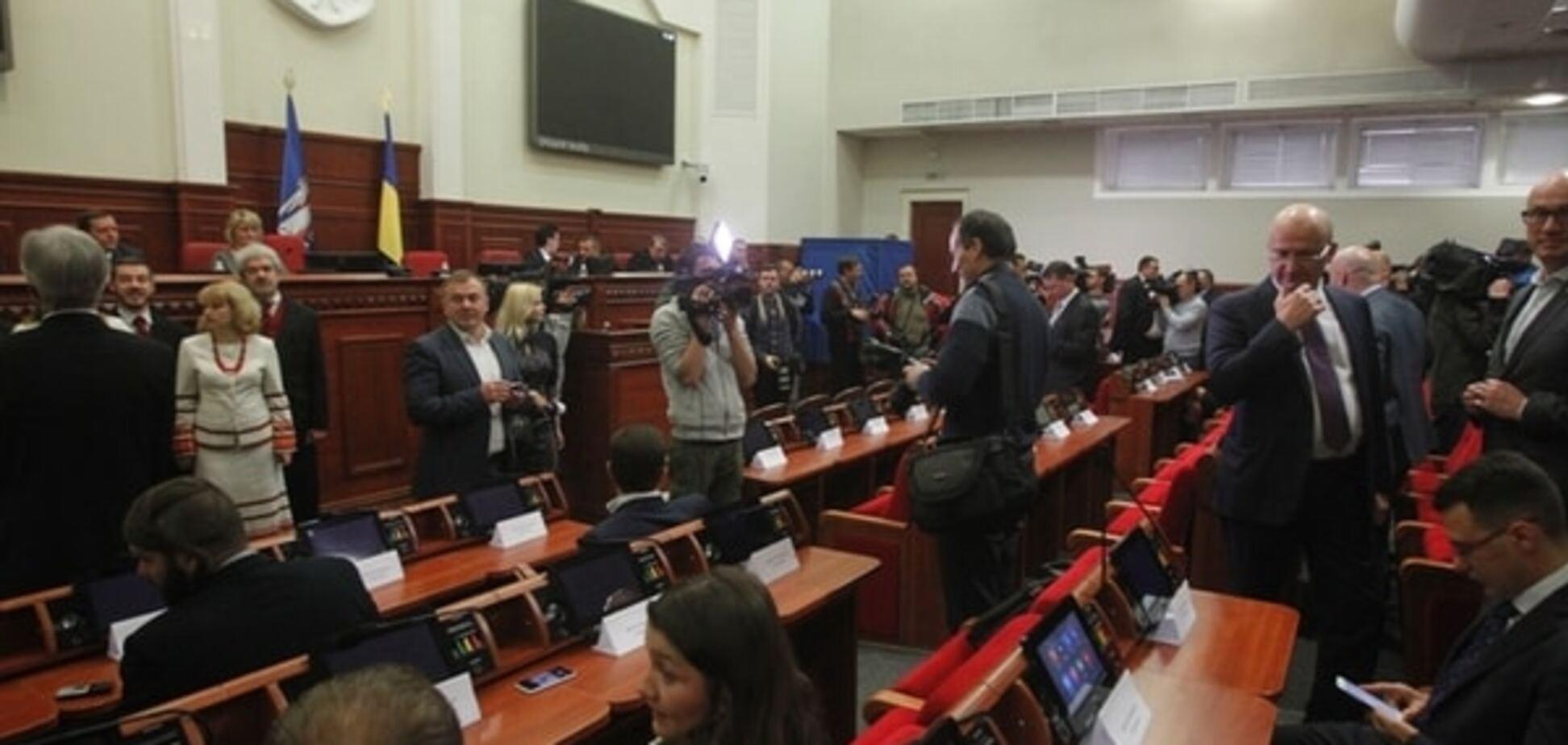 Нова Київрада зібралася на перше засідання