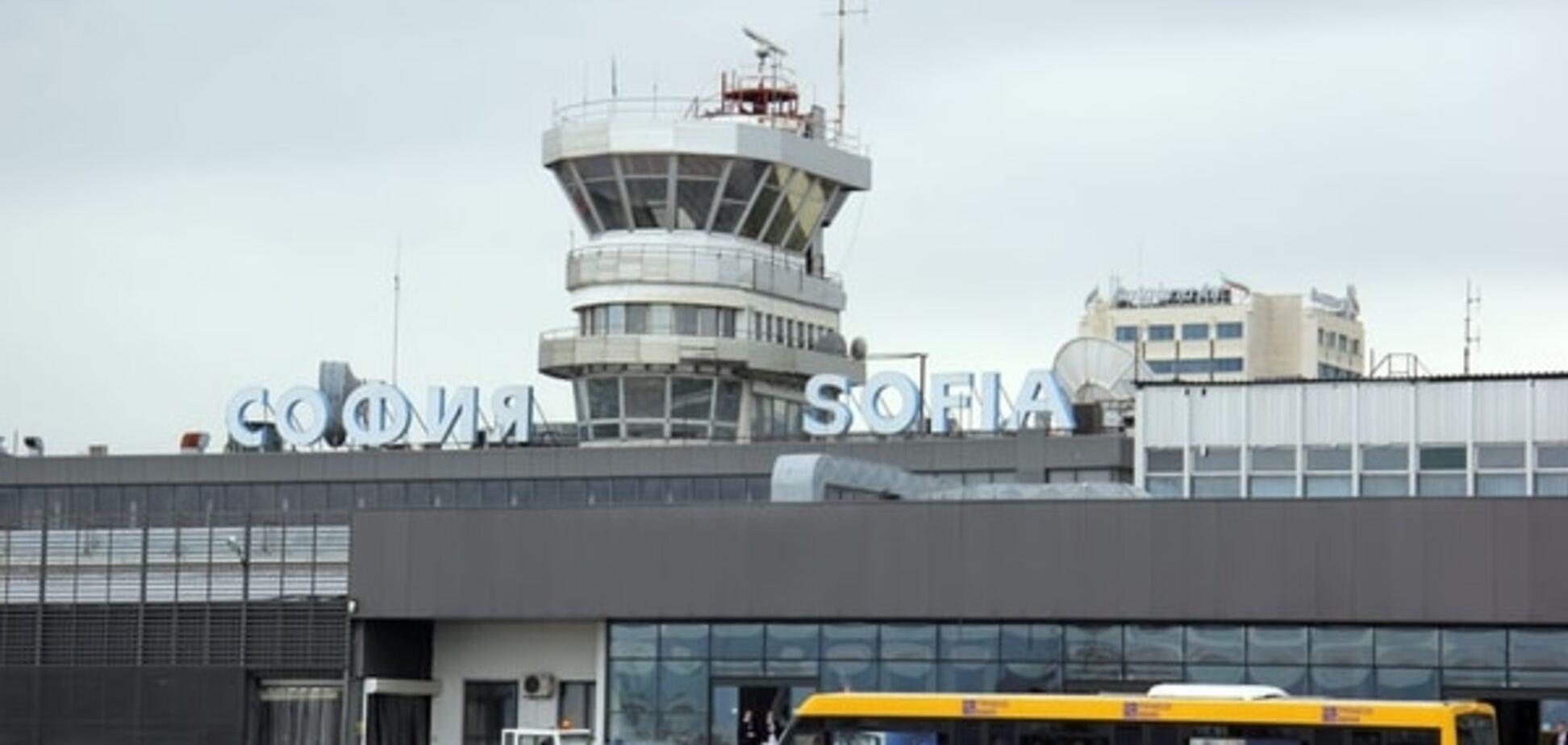 Замінований автобус викликав переполох в аеропорту Софії
