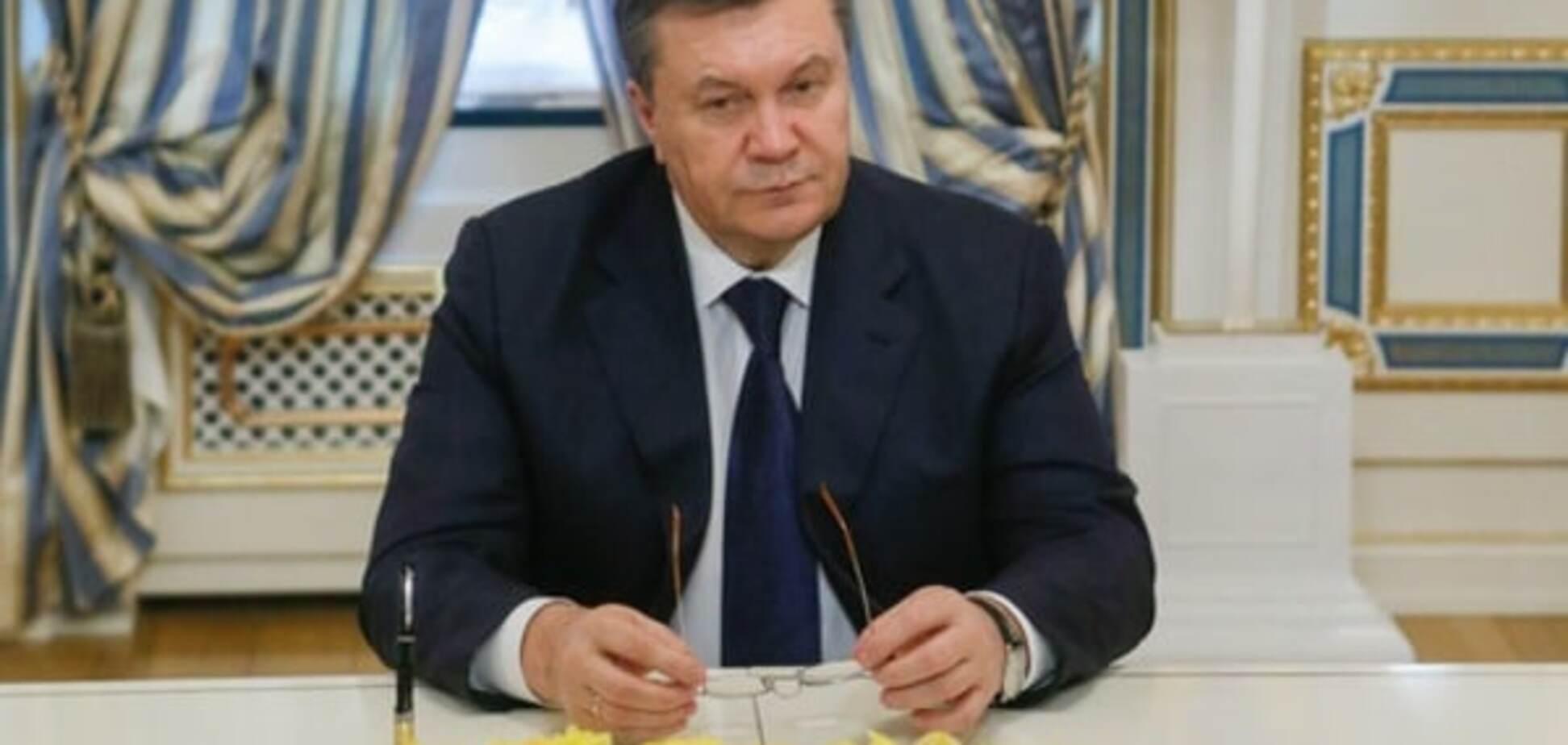 Янукович рассказал, что его ждет по приезду в Украину