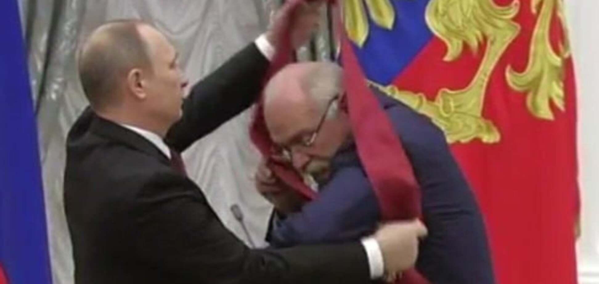 'Карлик вручив нагороди': Путіна знову висміяли в мережі