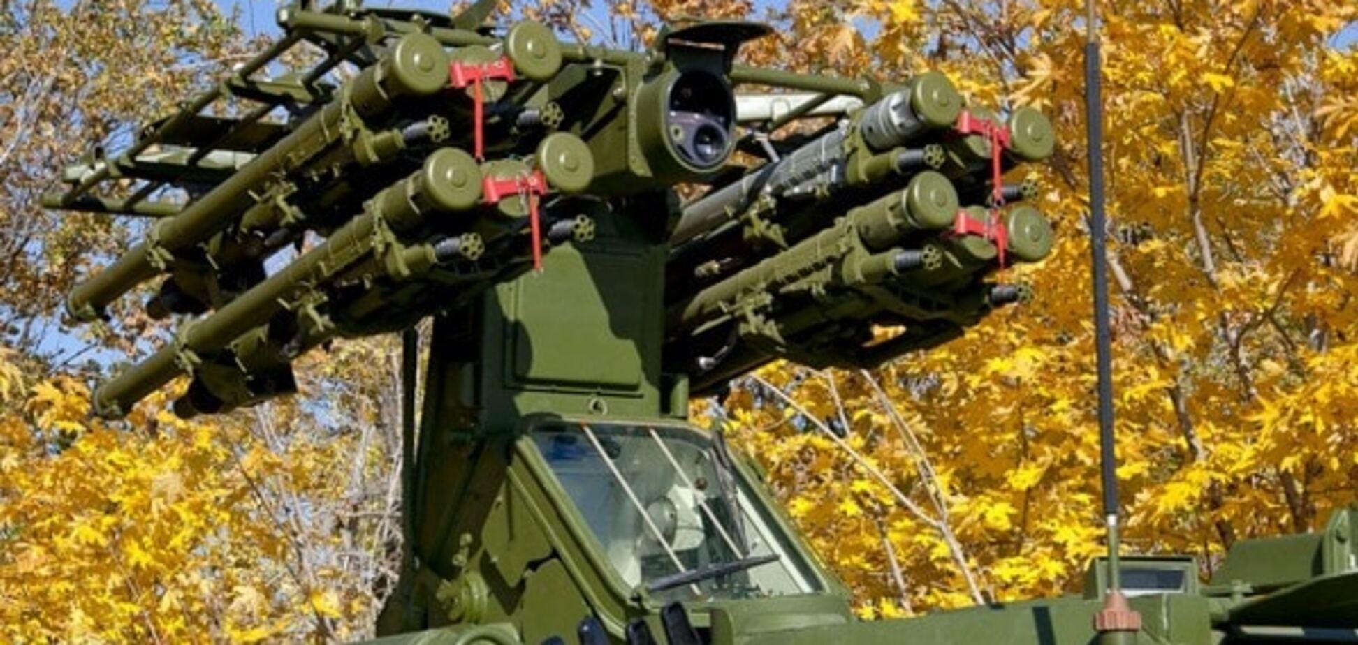 Росія випробовує на Донбасі новітній зенітно-ракетний комплекс