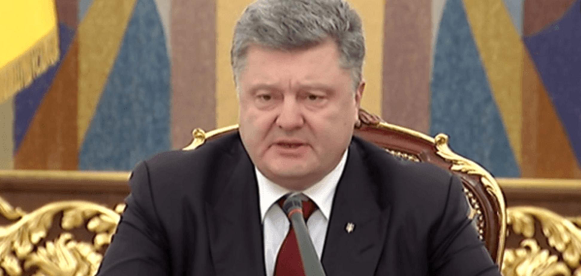 'Есть позиция': Порошенко отреагировал на скандал вокруг Барны и Яценюка