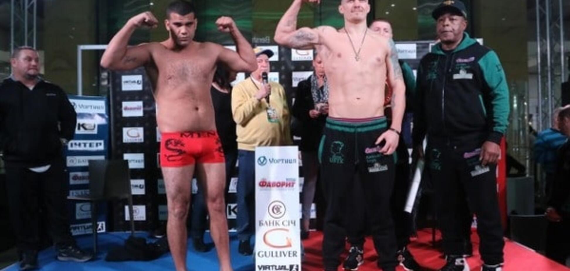 Кубинский боксер 'наплевал' на чемпионский пояс Усика
