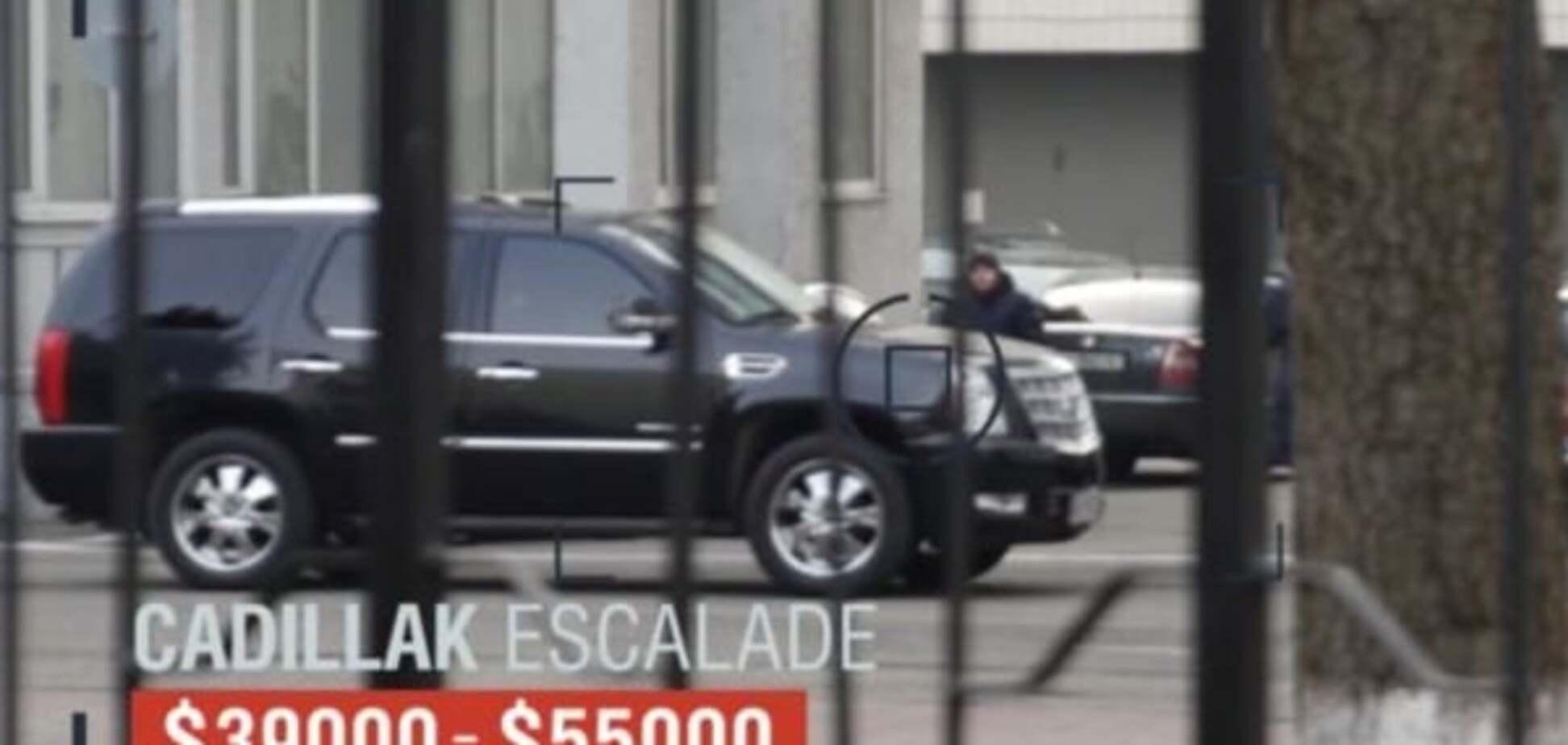 От Toyota до Cadillac: СМИ показали люксовый секретный автопарк МВД. Опубликовано видео