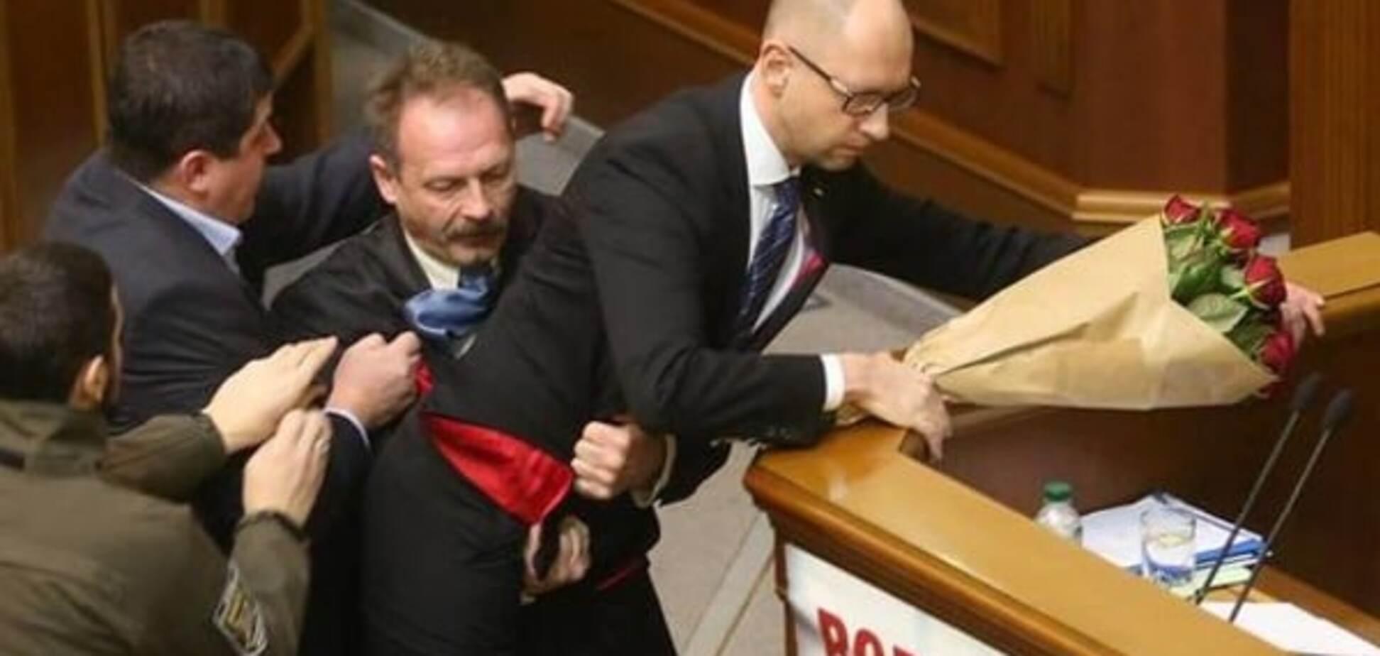Барну выгнали из БПП за скандал с Яценюком и пригрозили 'баном'