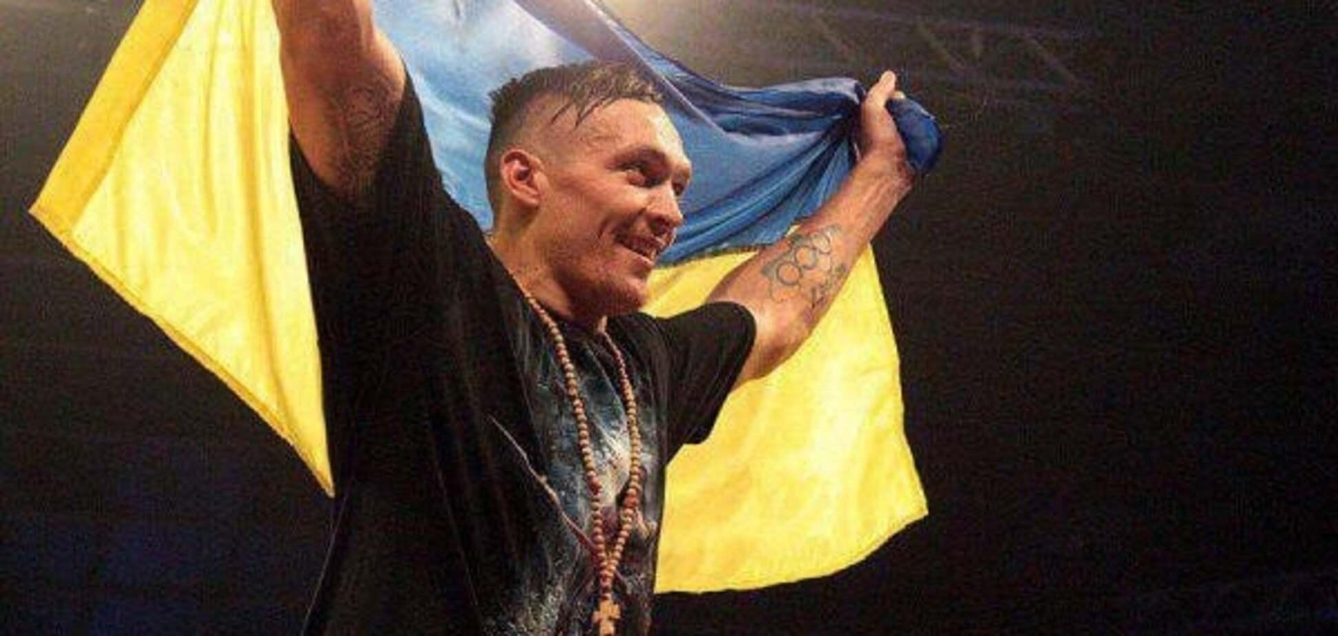 'Чтобы был мир': Усик после боя оставил трогательное послание Украине
