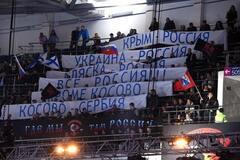 'Крим і Україна - Росія': у Москві вивісили провокаційні банери на боксерському шоу
