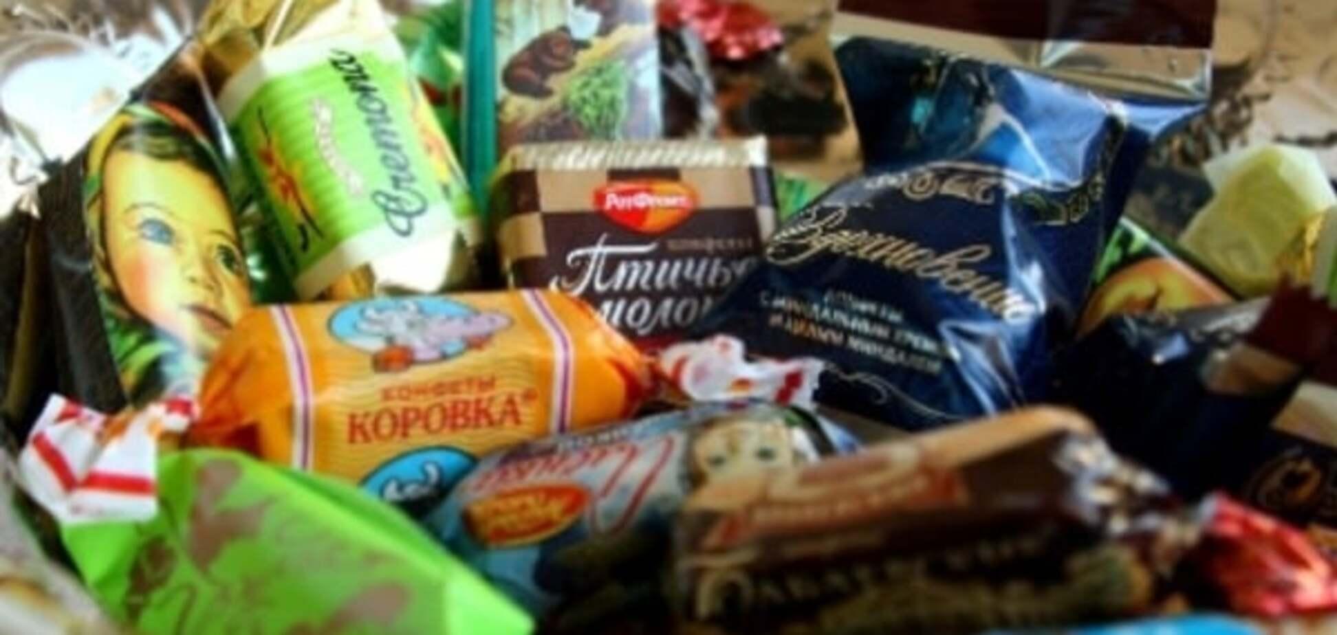 В Ивано-Франковске детям героев АТО подарили конфеты из России