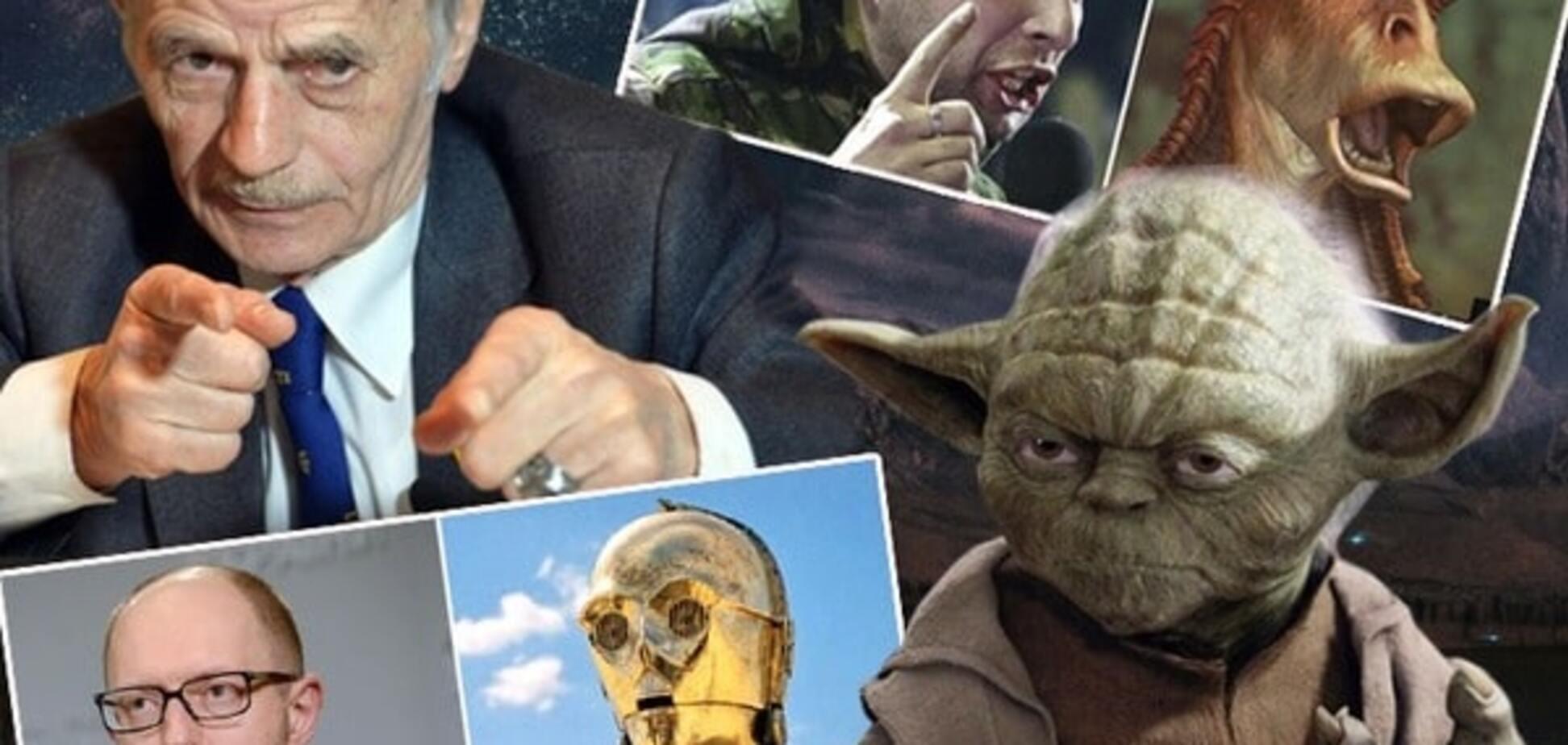 У 'Зоряних війнах' виявили двійників Яценюка, Путіна і Тимошенко: опубліковані фото