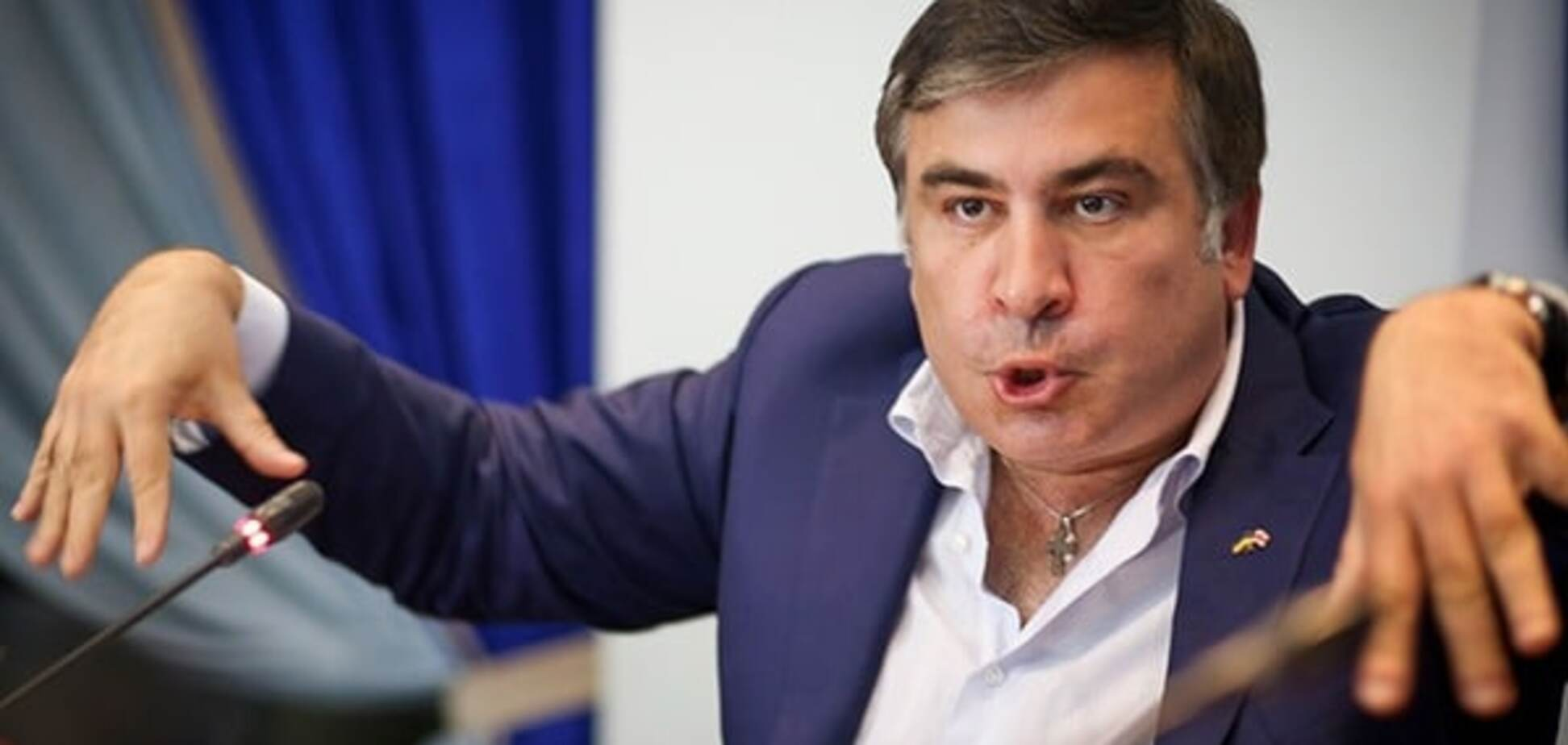 А есть ли виза? Саакашвили запутался со своим ответом Путину: фотофакт