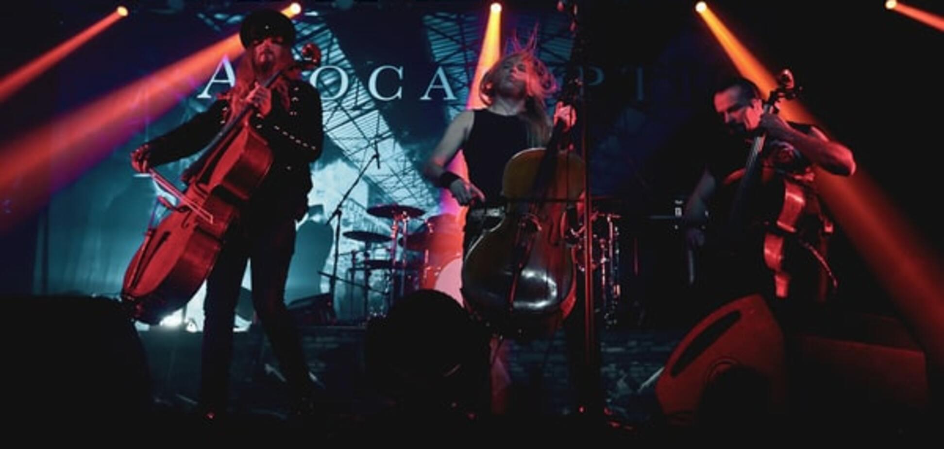 Apocalyptica зажгла киевскую публику роком на виолончелях: опубликованы фото и видео