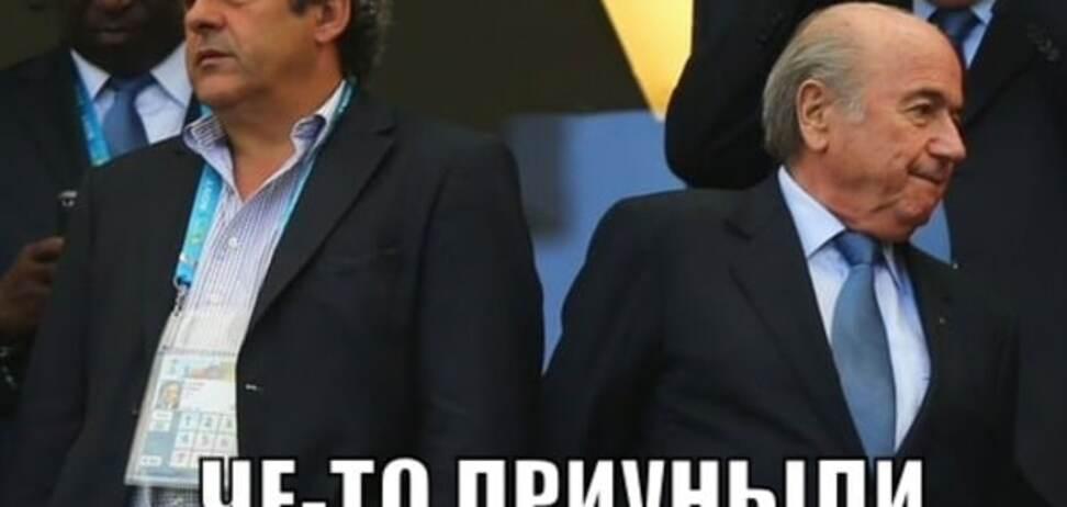 Пора в Россию. Соцсети бурно отреагировали на приговор Блаттеру и Платини