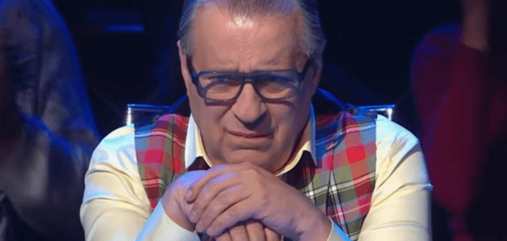 Хазанова перекосило від пісні Дюжева про корупцію в 'Газпромі'. Відеофакт
