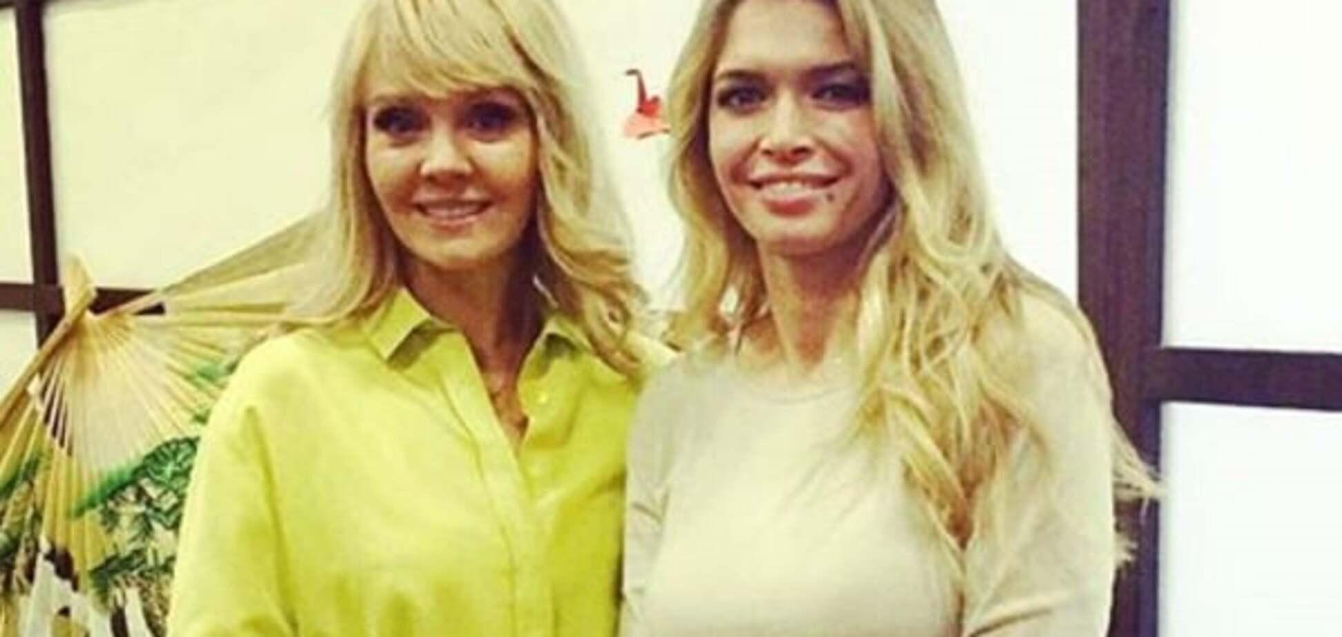 Брежнєва погуляла із забороненою в Україні Валерією на дитячому святі