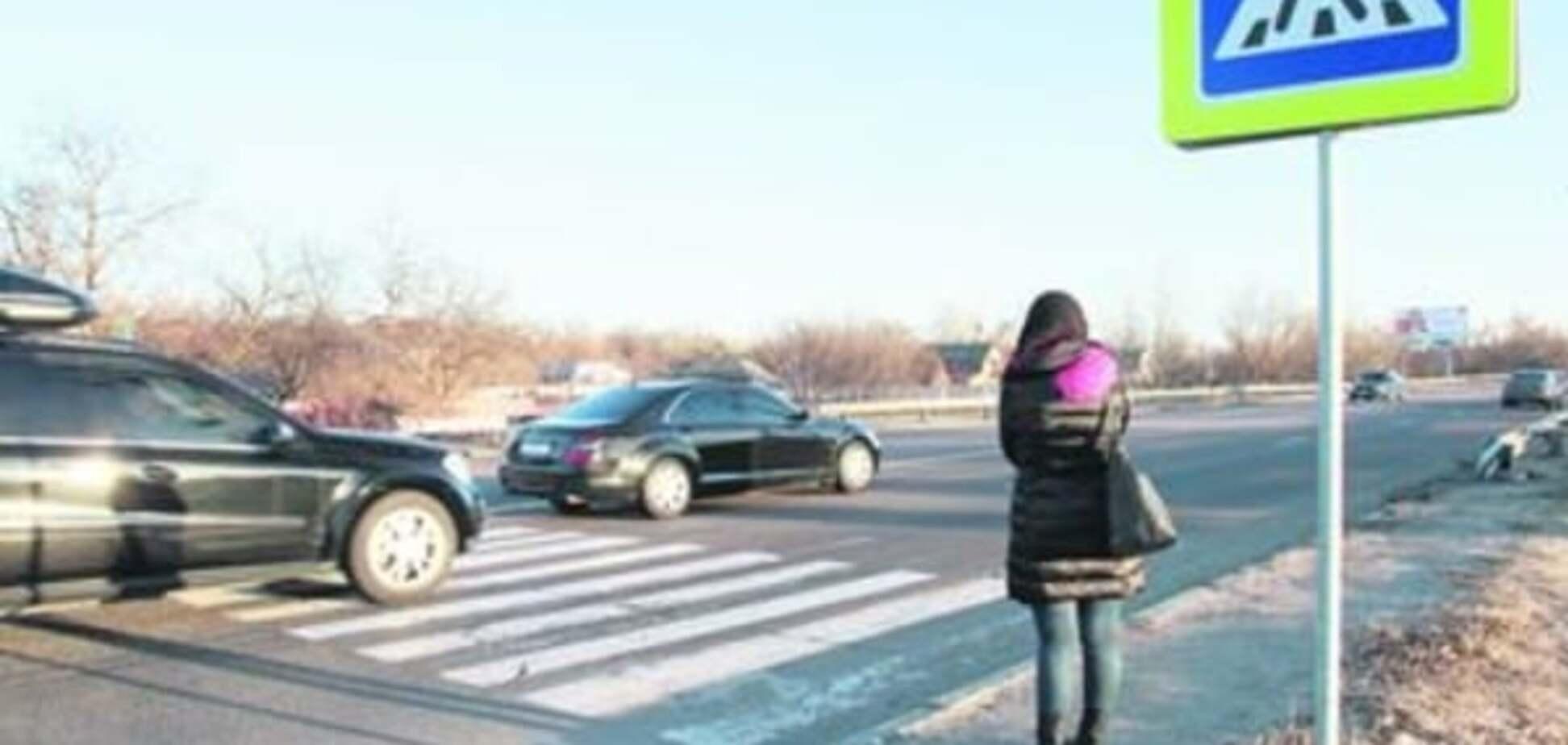 Место ДТП с автомобилем Омельченко наводит ужас на местных жителей