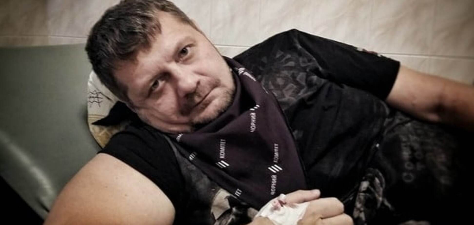Врачи оставили Мосийчука в реанимации: обширная язва желудка и кровотечение
