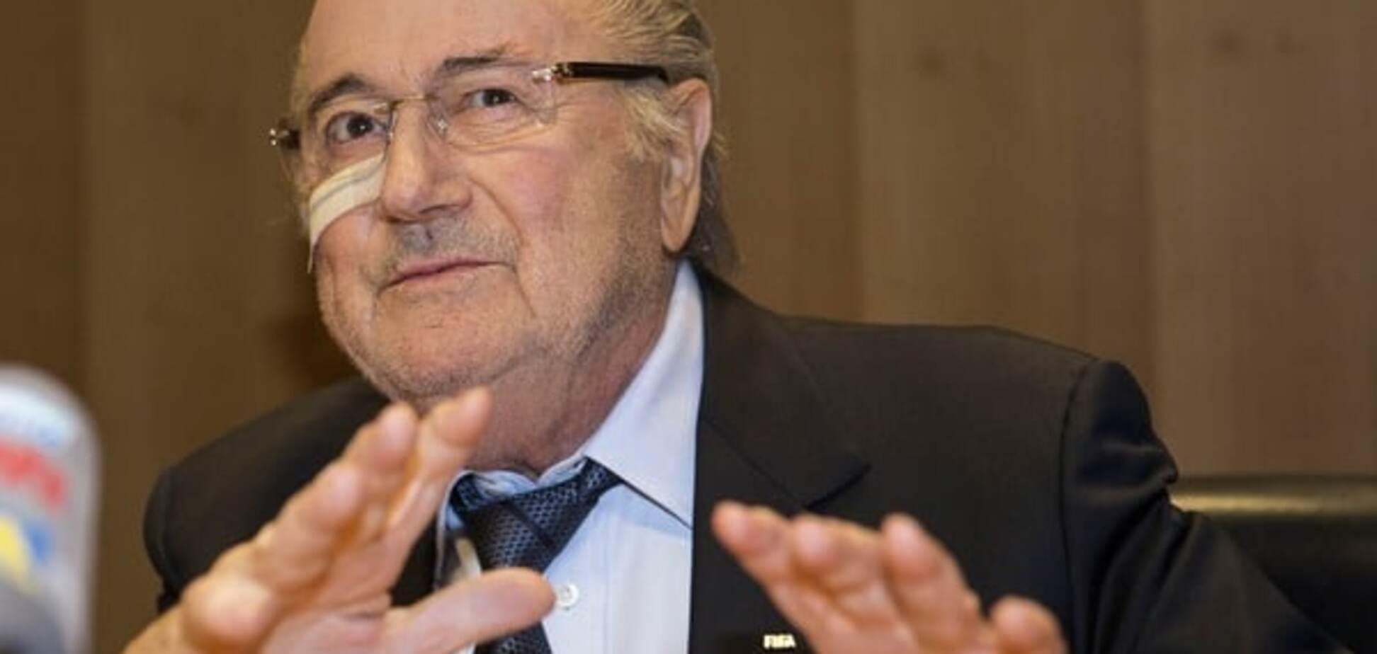 Президенту ФІФА надійшла смертельна загроза