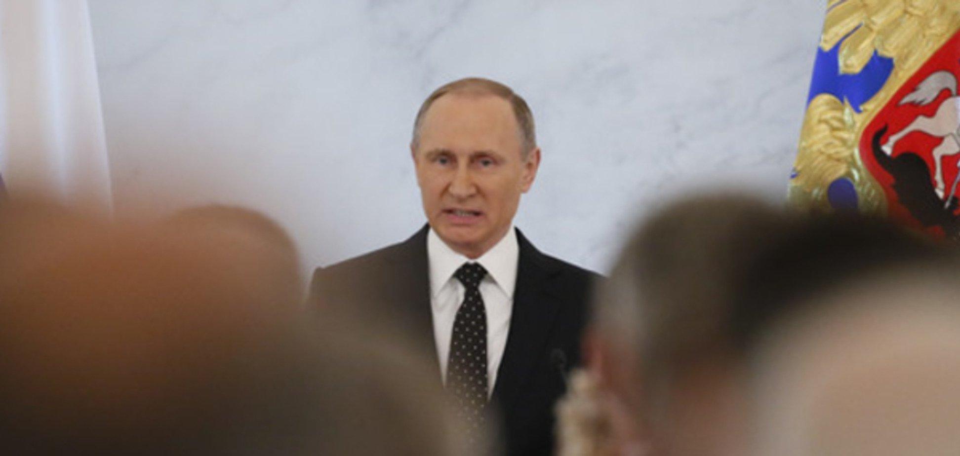 Путін розповів, що дала Росії окупація Криму