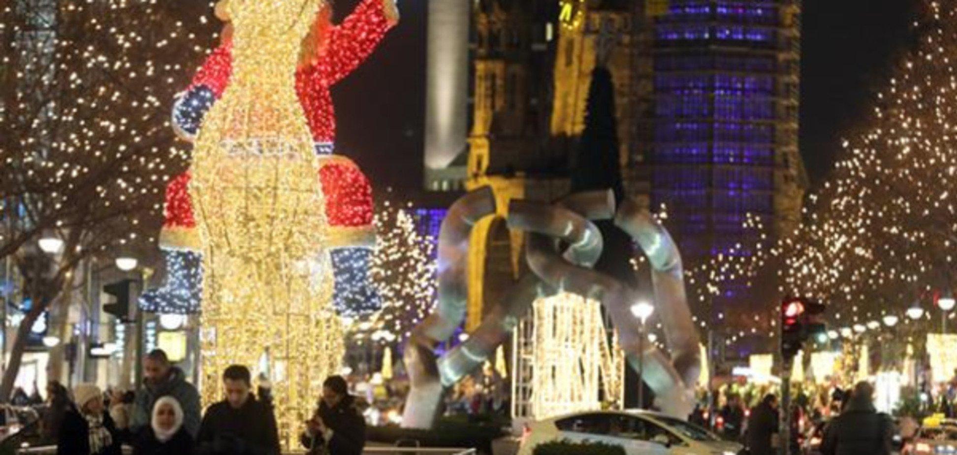 Європейські міста осяяли різдвяні вогні: фотофакт