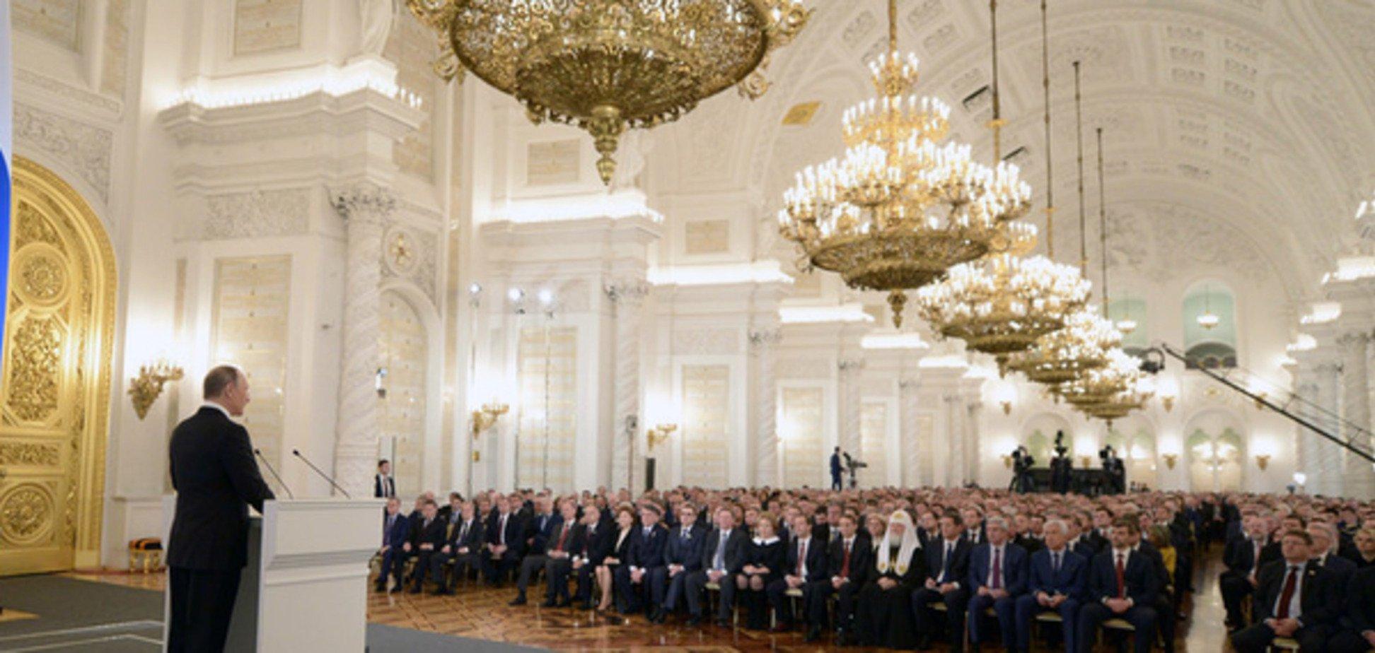 Бабченко потролив публіку на посланні Путіна