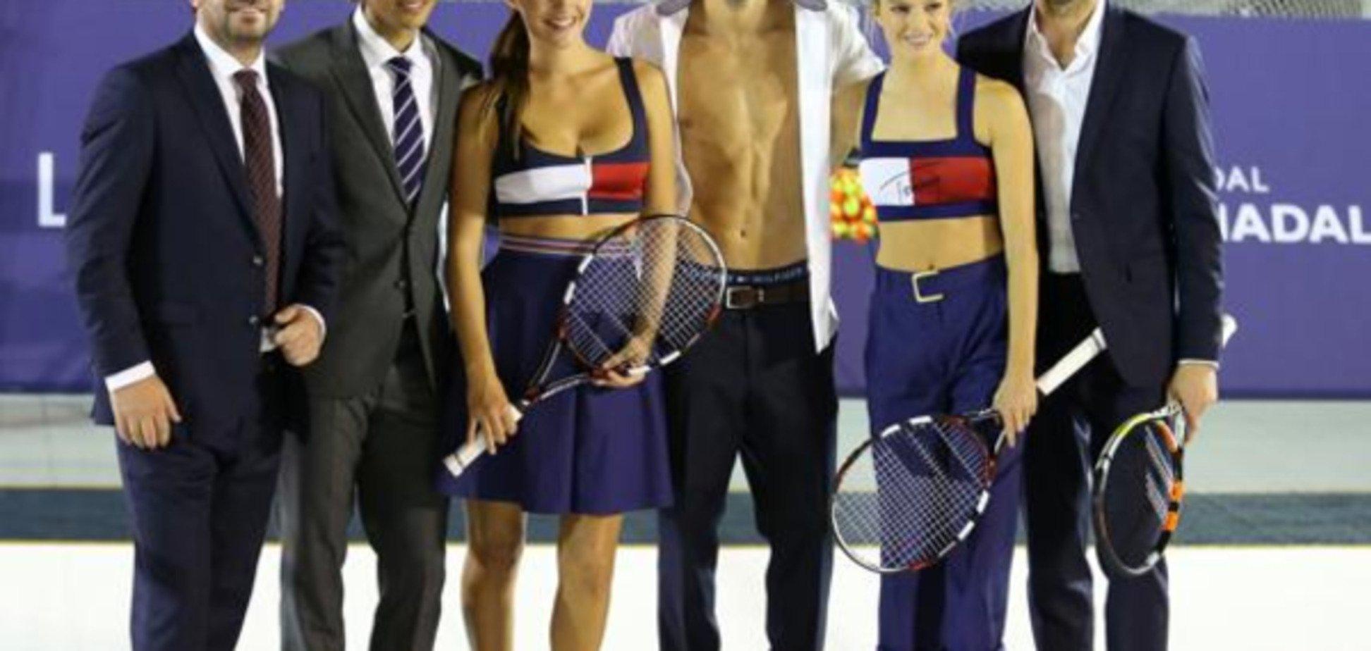 Надаль зіграв у теніс на роздягання з відомою моделлю