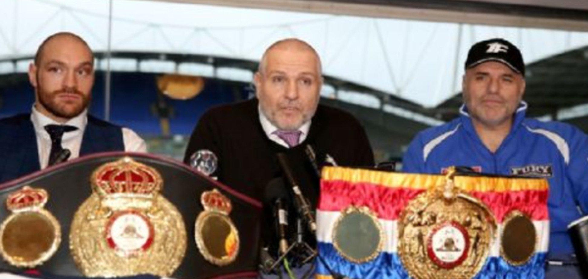 'Сміття': Ф'юрі несподівано відмовився від чемпіонського пояса Кличка на користь українця