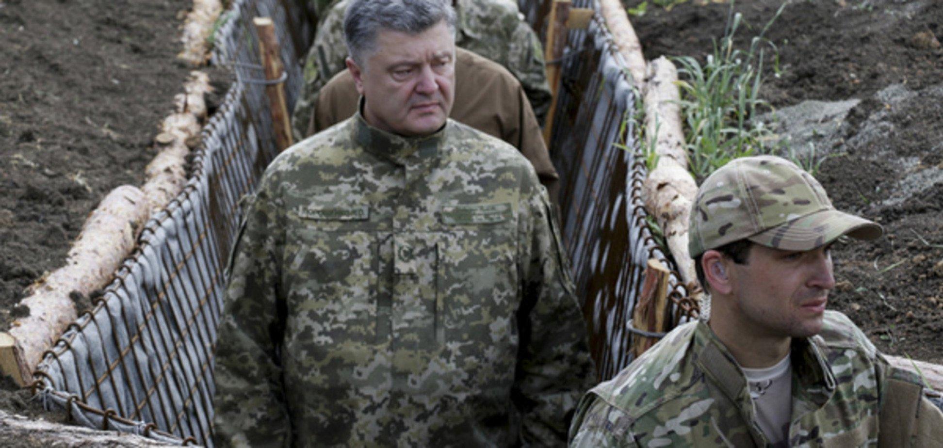 Порошенко пояснив, чому терористи на Донбасі програють