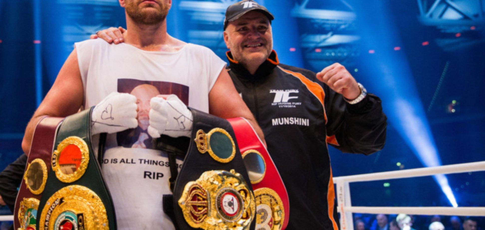 Тренер Тайсона дав прогноз на реванш Кличко - Ф'юрі
