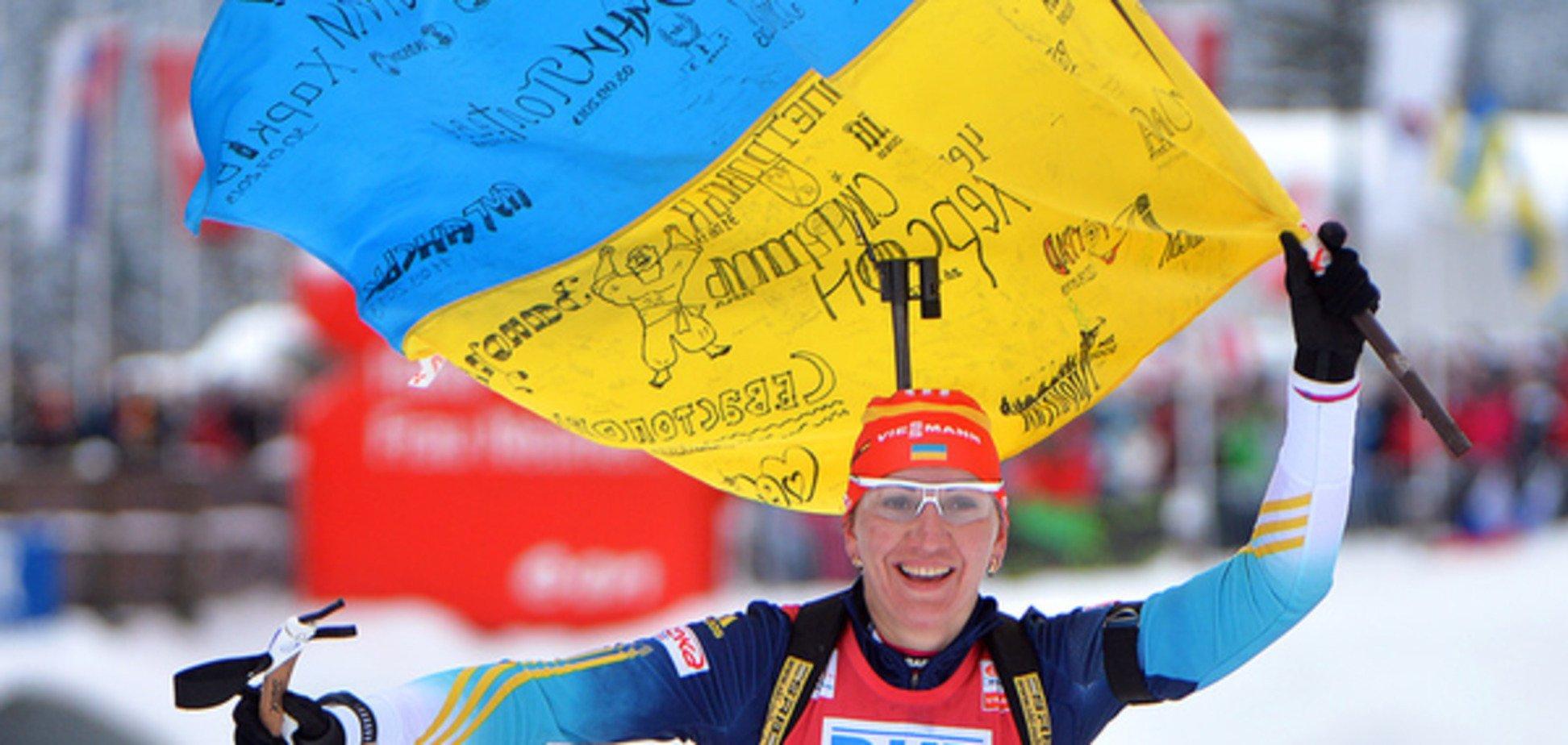 Україна виграла 'бронзу' на Кубку світу з біатлону