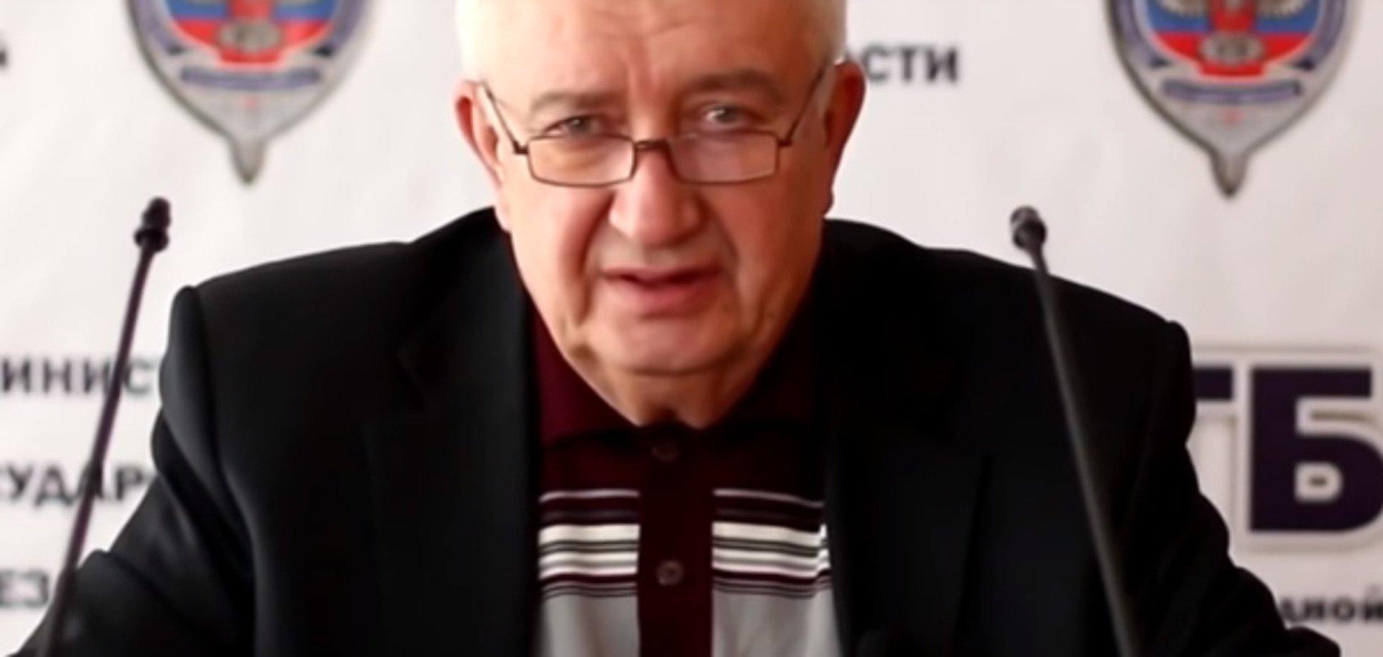 Генерал-майор СБУ перейшов на сторону 'ДНР' і закликав 'валити хунту': опубліковано відео