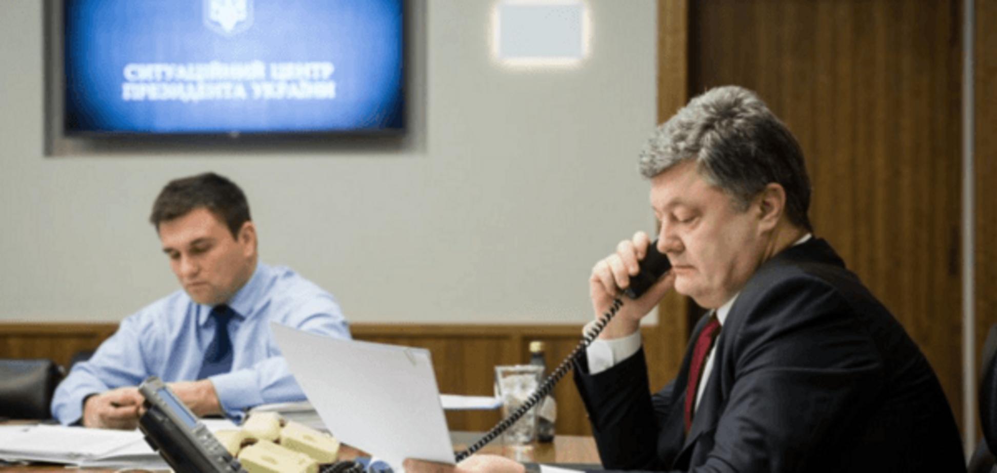 Порошенко напомнил Путину о Савченко и Сенцове