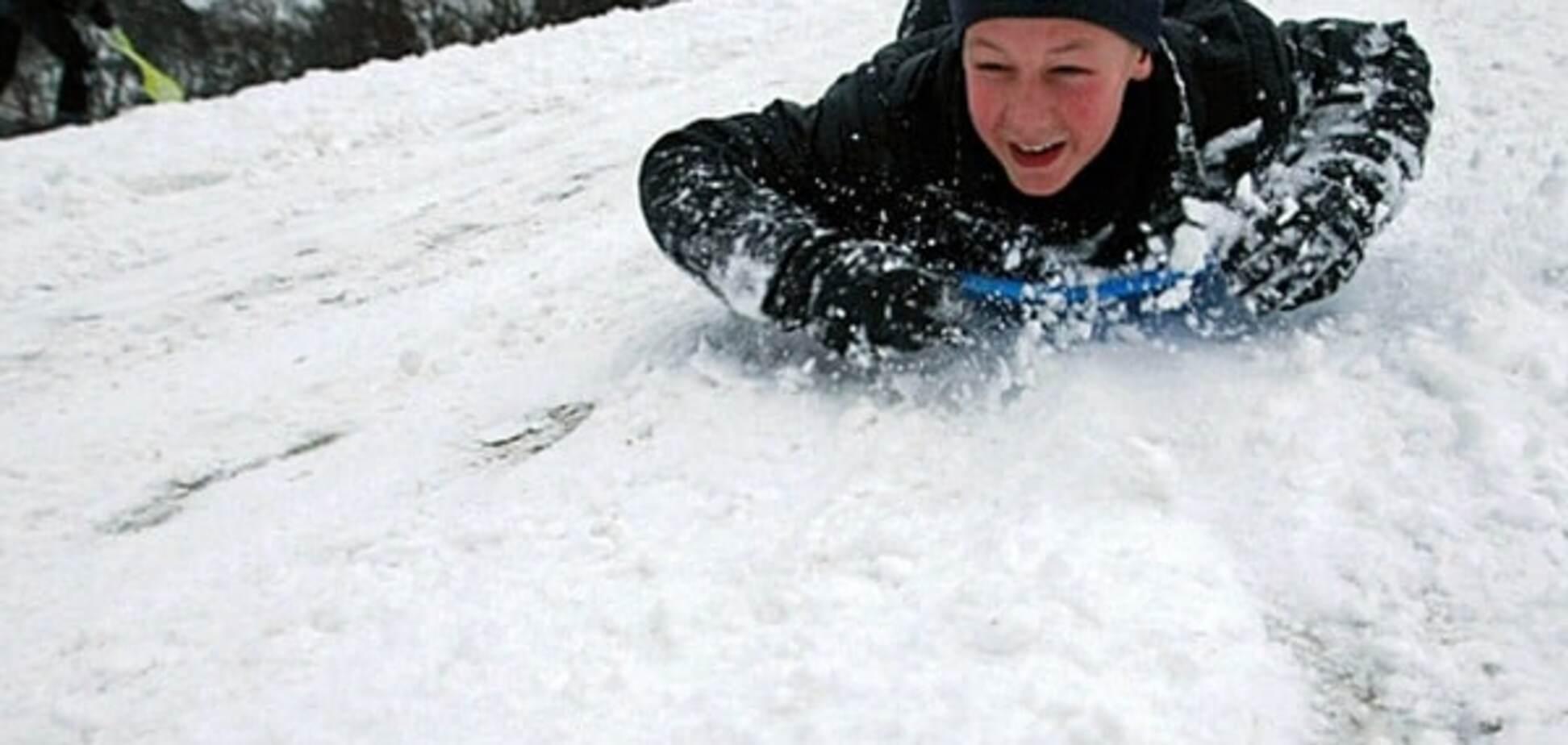 Зимние развлечения: путеводитель по самым крутым киевским горкам