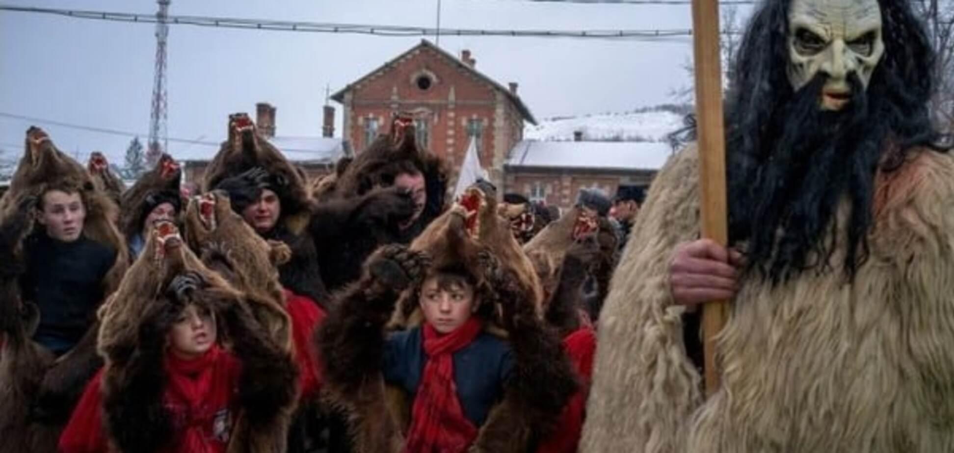 Новий рік у Східній Європі: ведмежі танці, плацинди і чічілаки