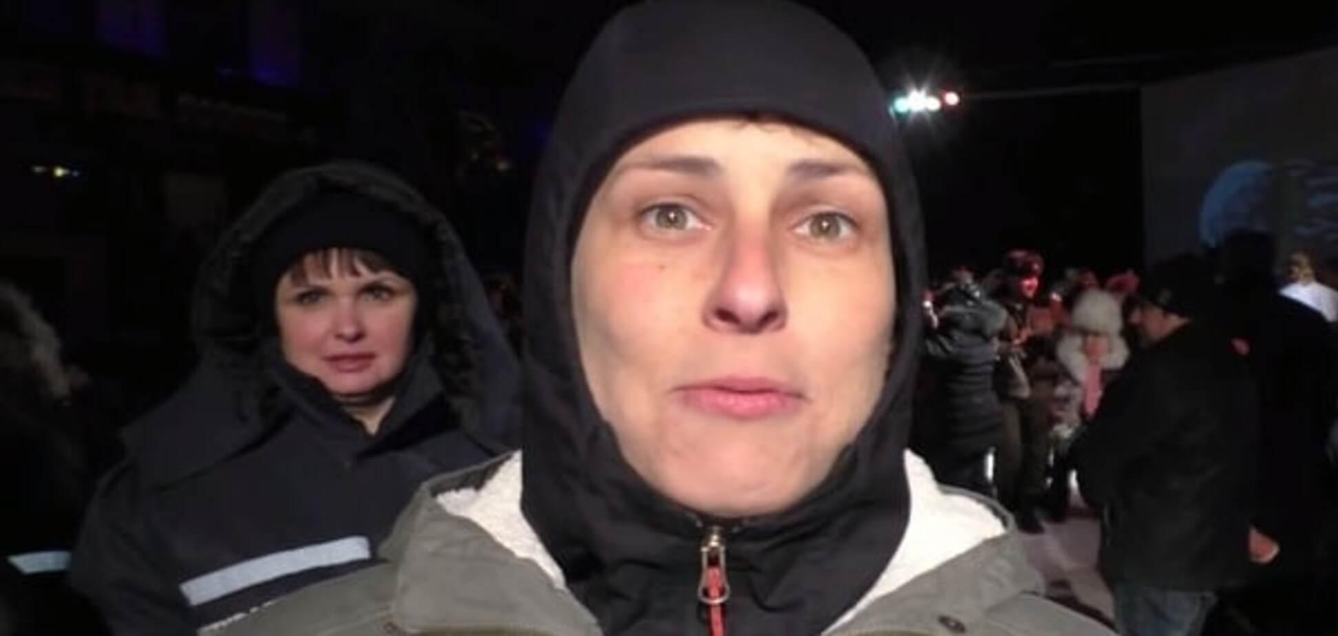 Снова в голову надуло. Чичерина явилась с 'подарками' в оккупированный Луганск