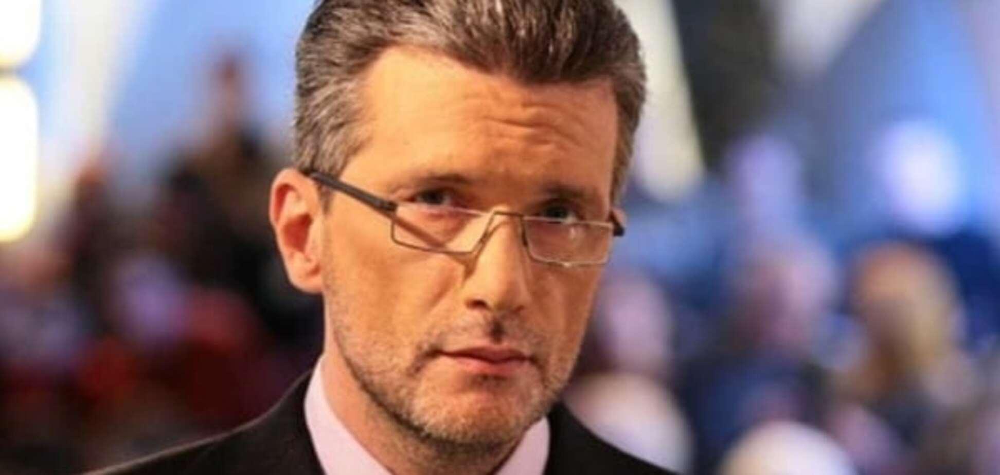 Ведущий 'Свободы слова' решил уйти с телевидения