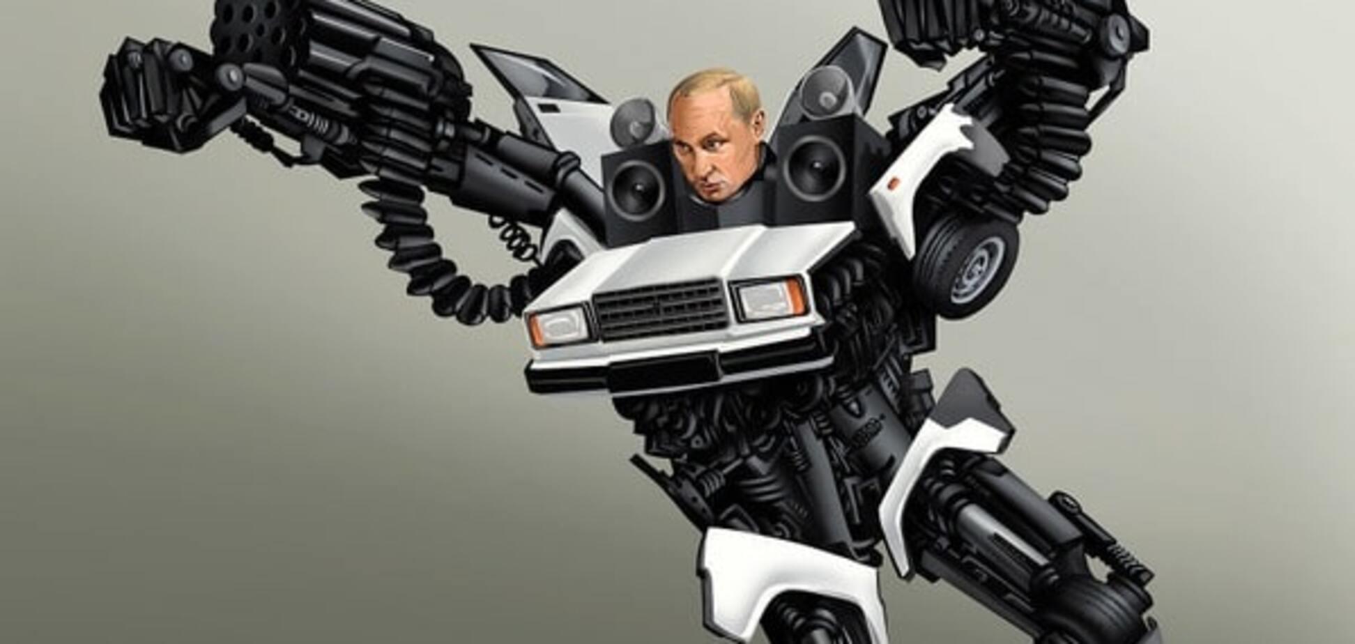 Художник изобразил Путина, Обаму и других политиков роботами: фотофакт