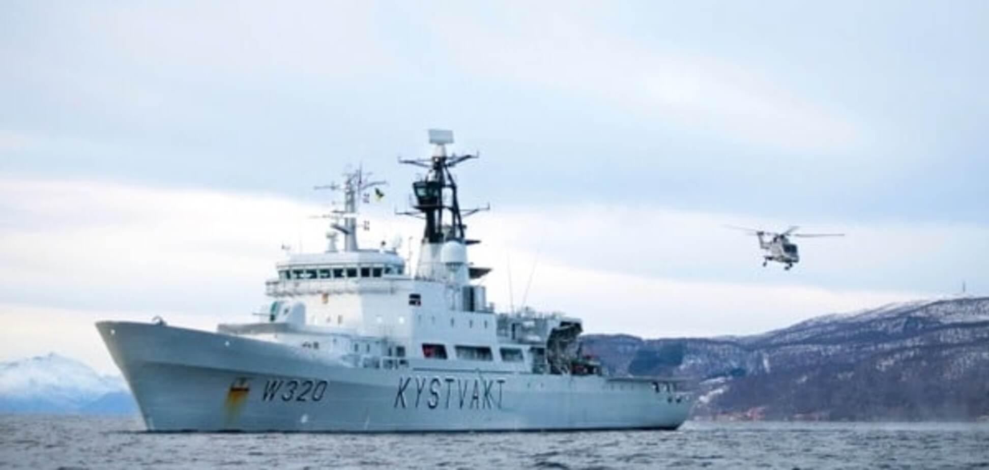 Російське судно зловили біля берегів Норвегії