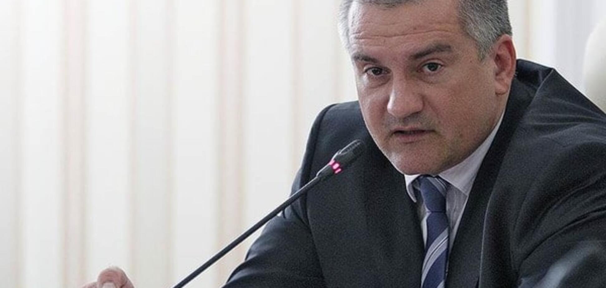 Аксьонов хоче залишити Крим без генераторів