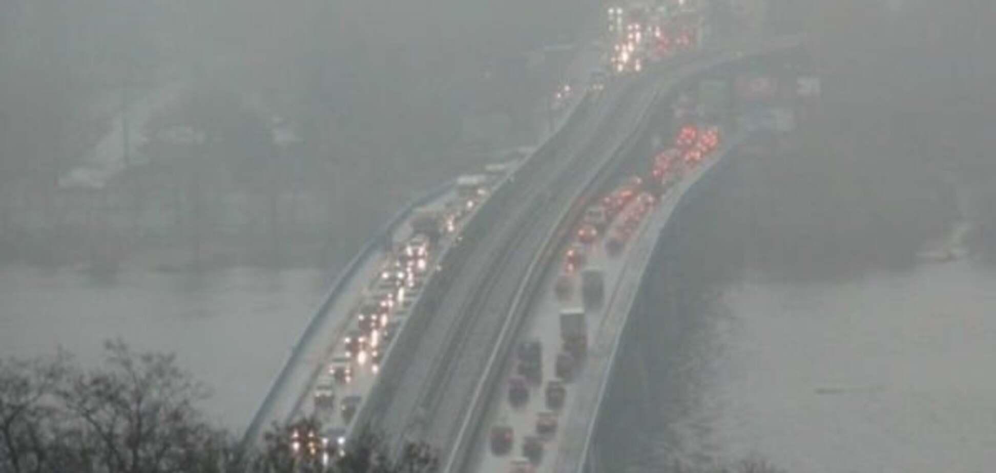 Київ накриє туманом: у КМДА попередили водіїв
