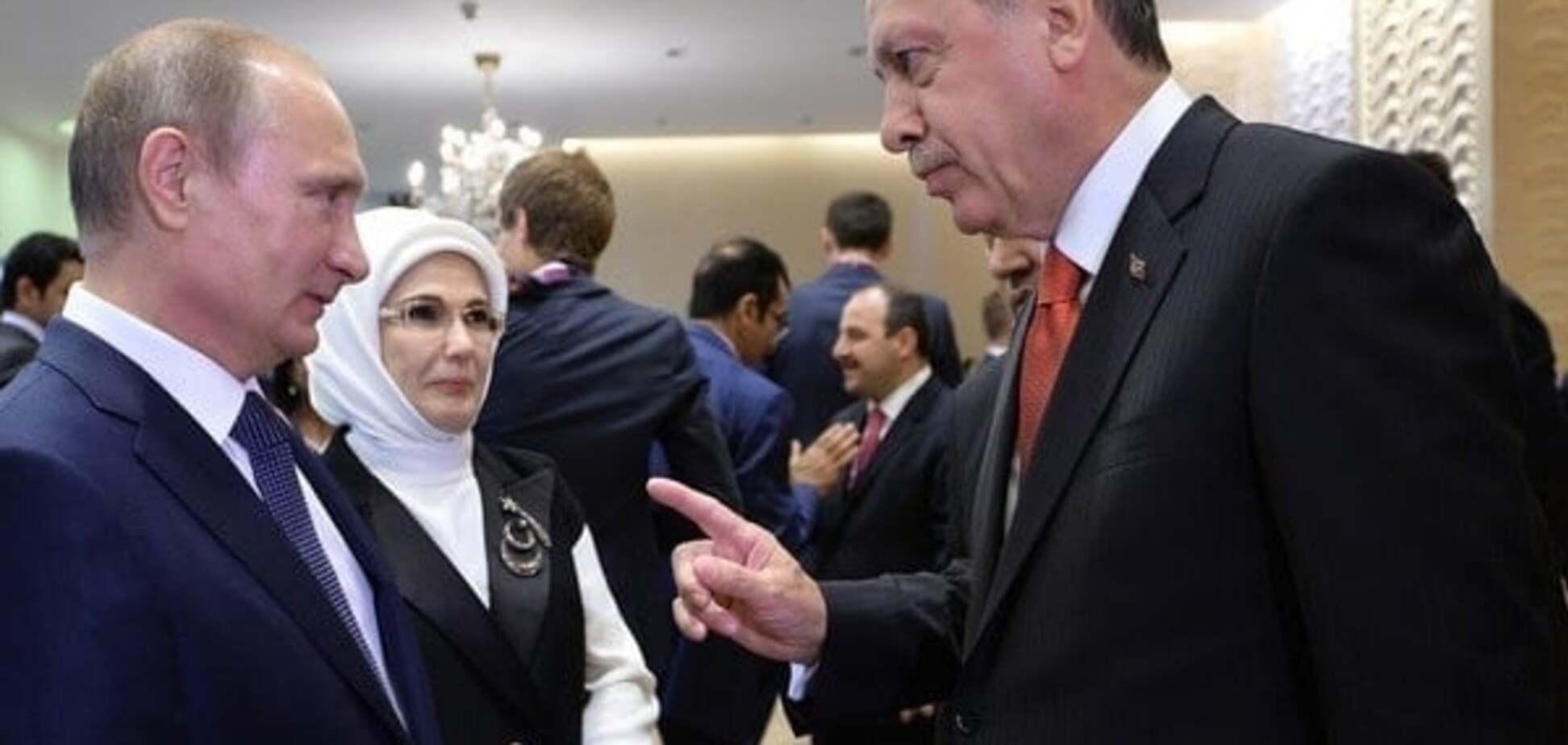 У Грузії інформвійну Путіна проти Туреччини назвали 'маячнею божевільного'